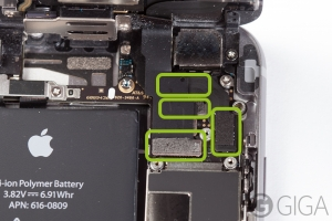 Conectores de la pantalla iphone 6