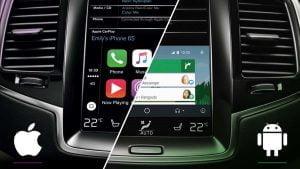 Android Auto y Apple CarPlay son más peligrosos que enviar mensajes de texto, según un estudio