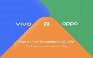 Estas marcas se acaban de unir a la alianza de transferencia de archivos unificada de Xiaomi / Oppo