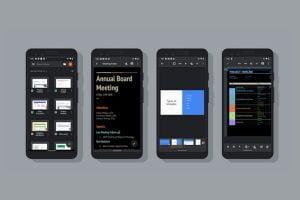 Google ha agregado el tema oscuro a algunas de sus aplicaciones