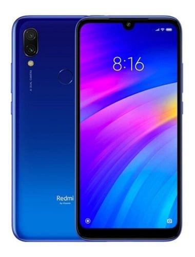 Xiaomi Redmi 7 Dual-SIM 32 GB Comet Azul 3 GB RAM    Mercado libre