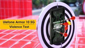 Video: Ulefone Armor 10 5G sobrevive brutales pruebas de durabilidad