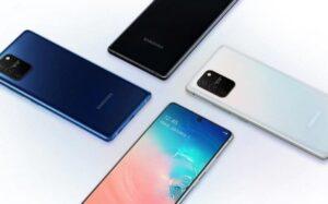 El Galaxy S10 Lite recibió inesperadamente una actualización de One UI 3.0