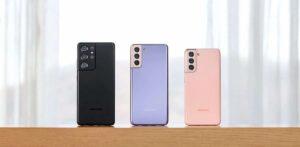 Se presentan los teléfonos inteligentes Samsung Galaxy S21 y Galaxy S21 +