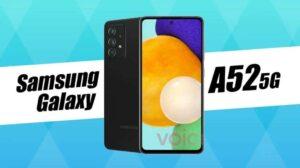 Resistencia al agua Galaxy A52 5G confirmada por yeso filtrado