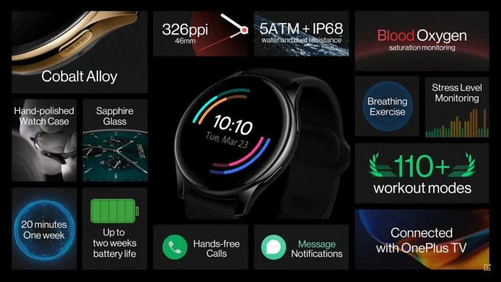 Reloj OnePlus