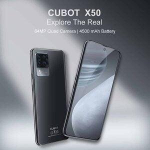 Cubot X50 con cámaras cuádruples insignia de 64MP lanzado oficialmente