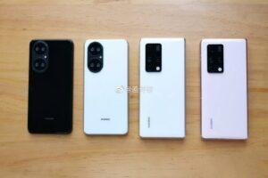 Los renders de Huawei P50 Pro se ven en línea: usa cinco cámaras traseras y HarmonyOS