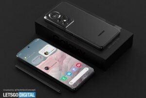 Así es como podría verse el Samsung Galaxy S22 Ultra