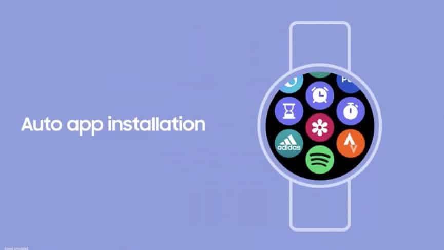 Instalación de la aplicación Samsung Galaxy Watch 4