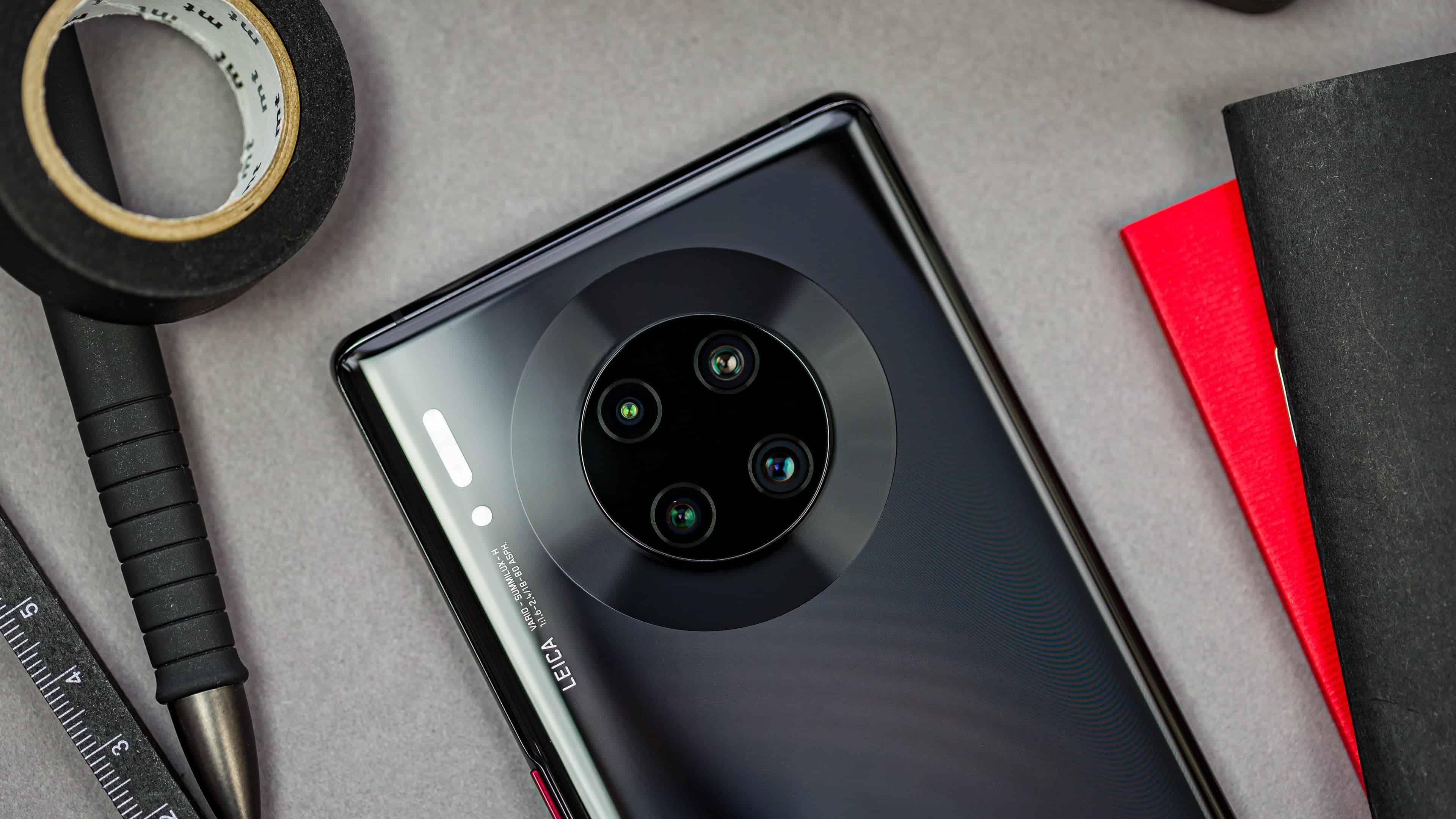 Huawei Mate 30 Pro funciona perfectamente después de tres días en la inundación de Henan