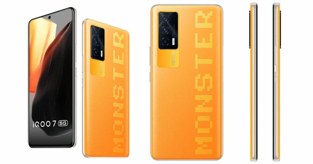iQOO 7 5G Monster Orange colorway llegará pronto a India