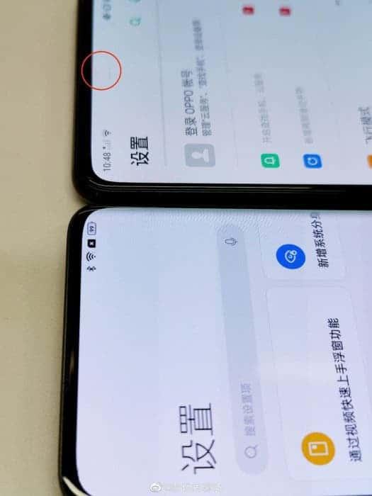 Dos teléfonos inteligentes Oppo con cámaras de subpantalla han aparecido en fotos