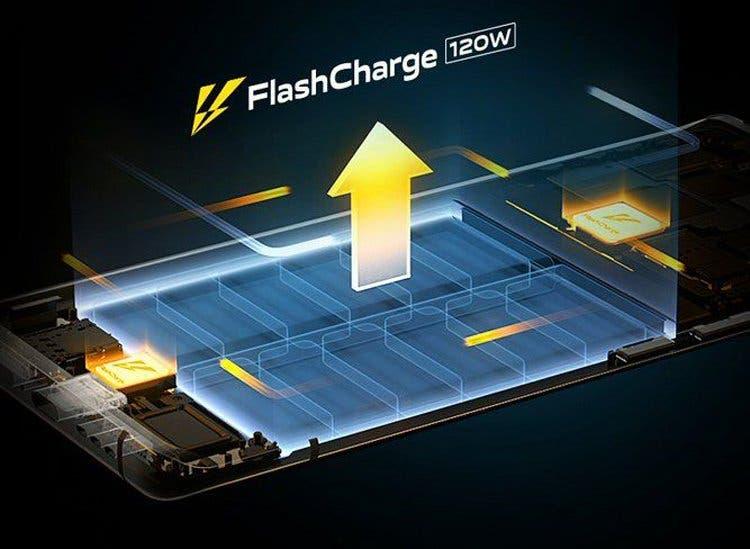 La serie de smartphones IQOO 8 llegará con soporte de carga de 120W