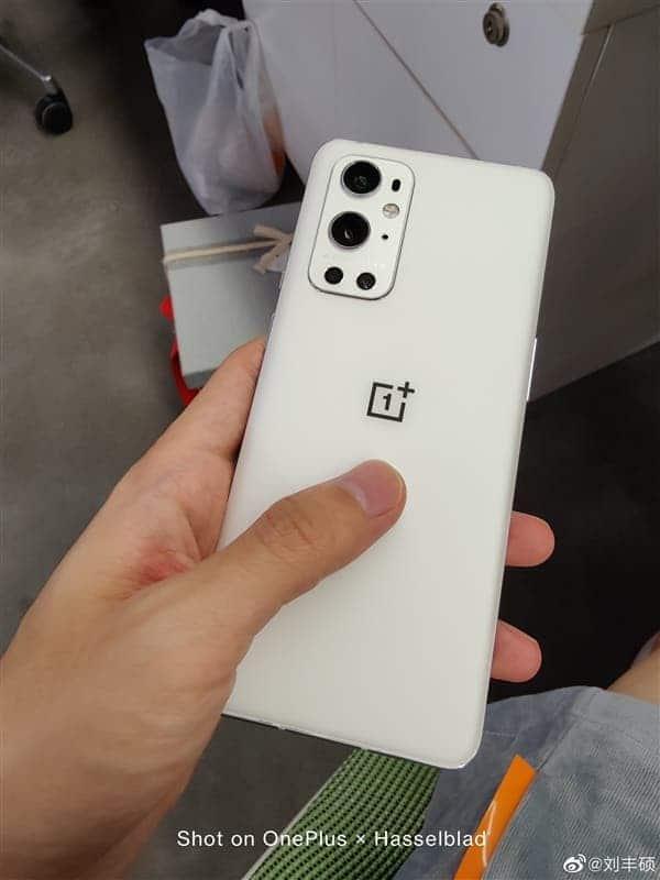 La versión blanca de OnePlus 9 Pro apareció en la foto espía