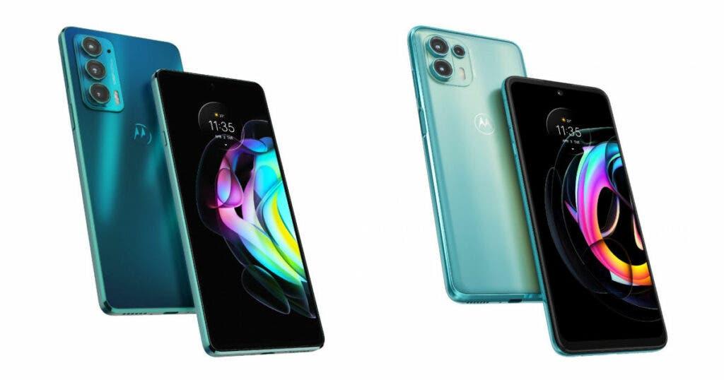 Motorola Edge 20 y Edge 20 Fusion lanzados en India