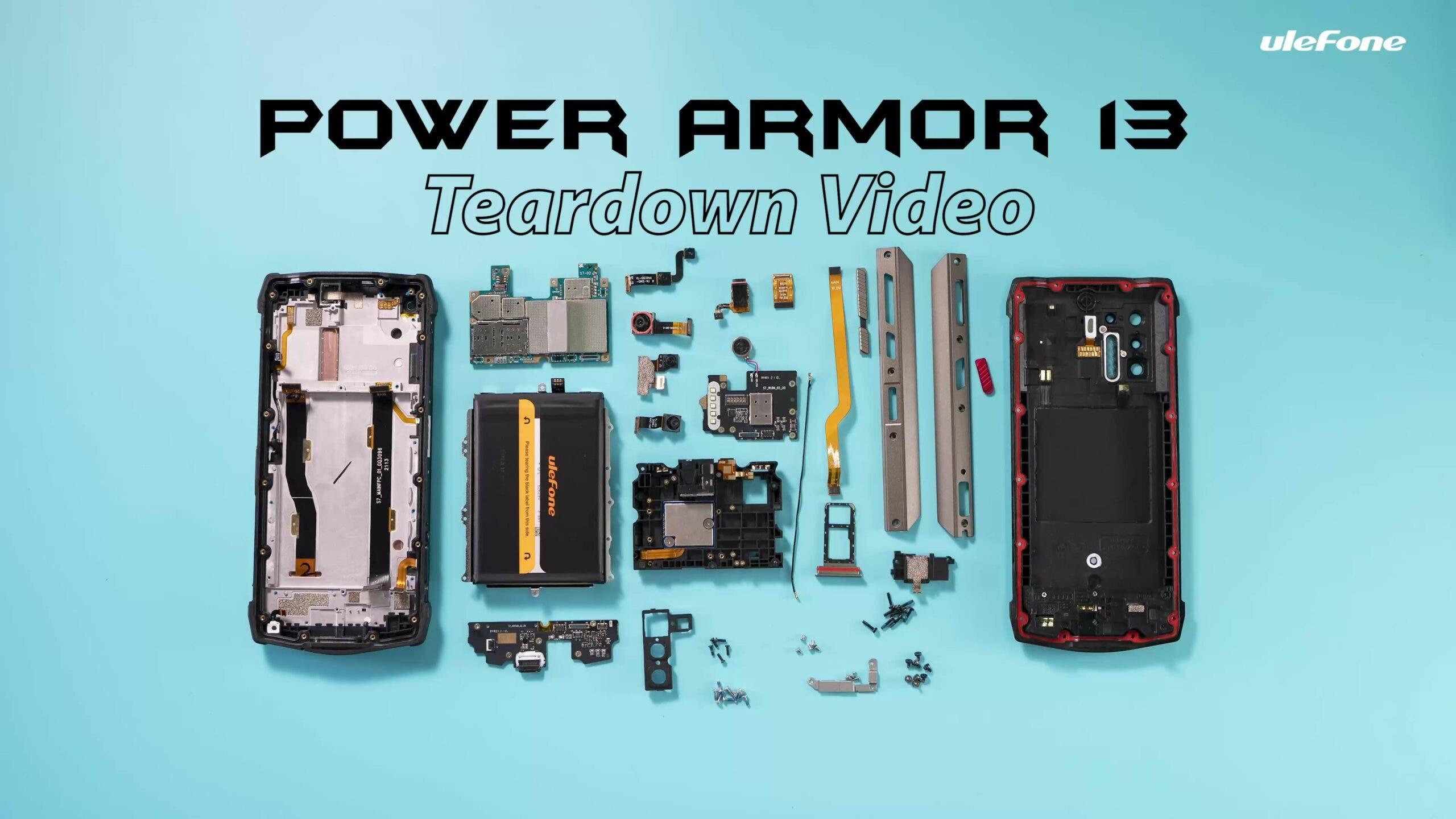 Prueba de rendimiento de Ulefone Power Armor 13 (frente a iPhone 12) y video de desmontaje