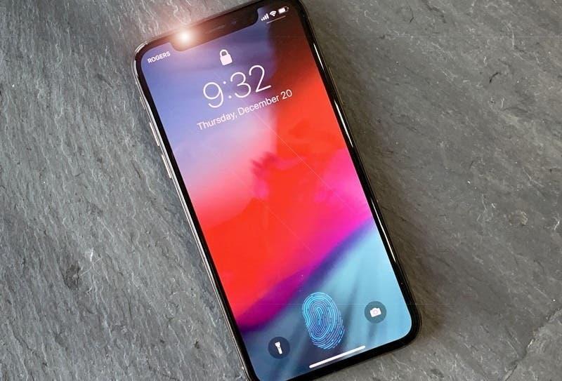 Tras la prueba, Apple rechazó el sensor de huellas dactilares de pantalla para iPhones