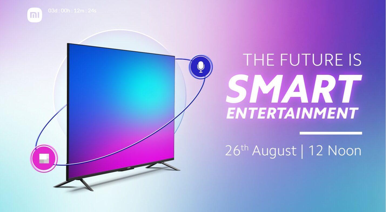 Xiaomi Mi TV 5X viene con altavoces estéreo de 40 W