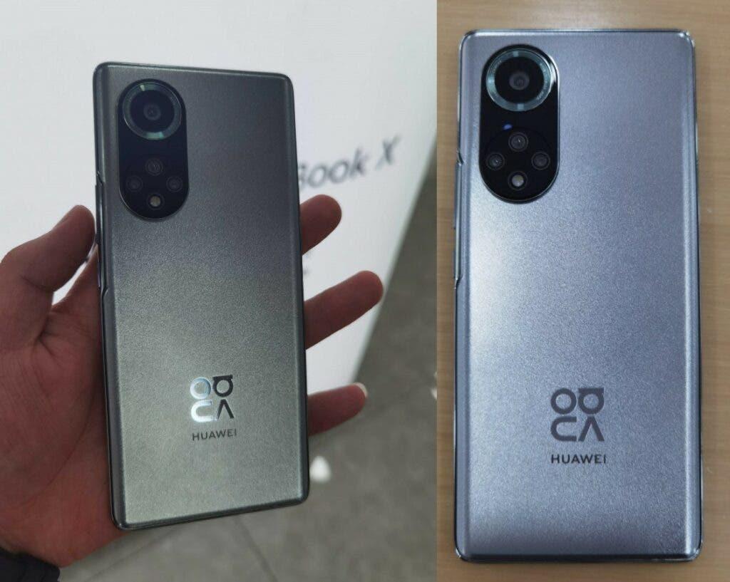 Huawei Nova 9 y Nova 9 Pro filtrados en imágenes en vivo, especificaciones reveladas