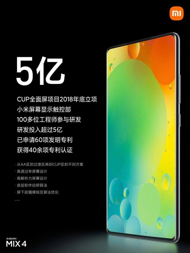 La primera información de Xiaomi Mi MIX 5 aparece en línea