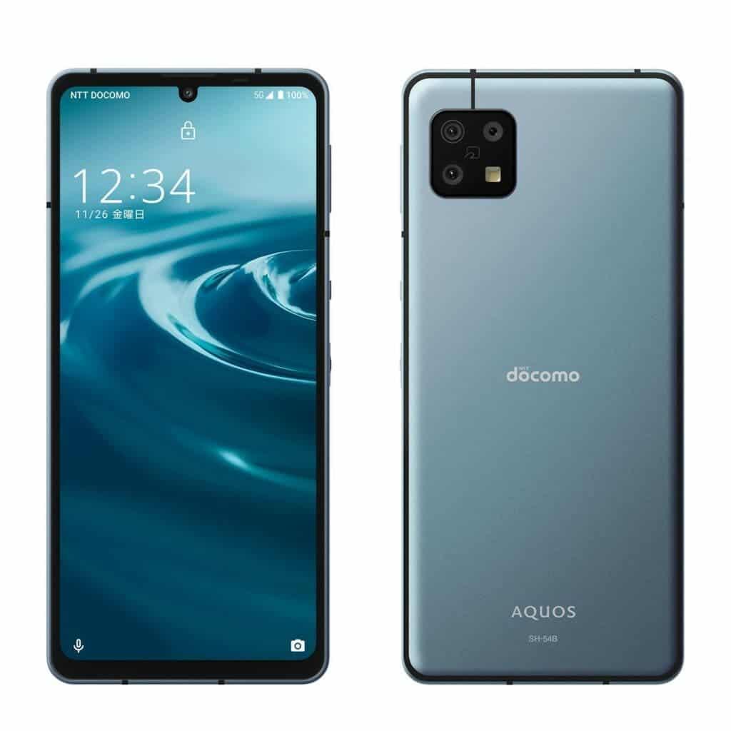 SHARP Aquos sense6 con pantalla OLED IGZO de 120Hz y Snapdragon 690 5G.  traído al mercado