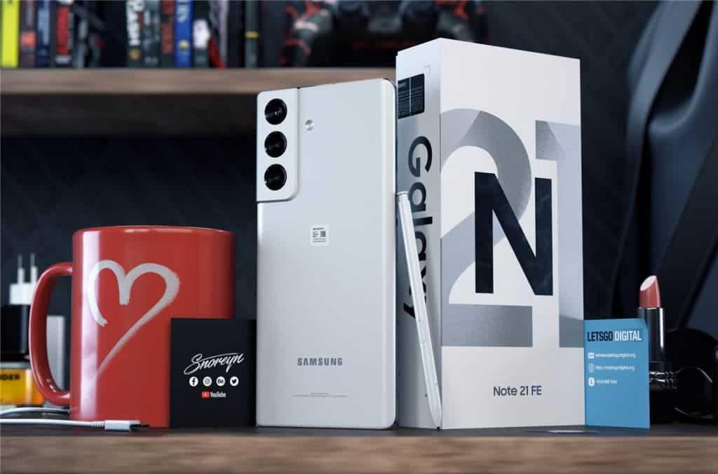 Samsung Galaxy Note 22 agrega una cámara inalámbrica al S Pen