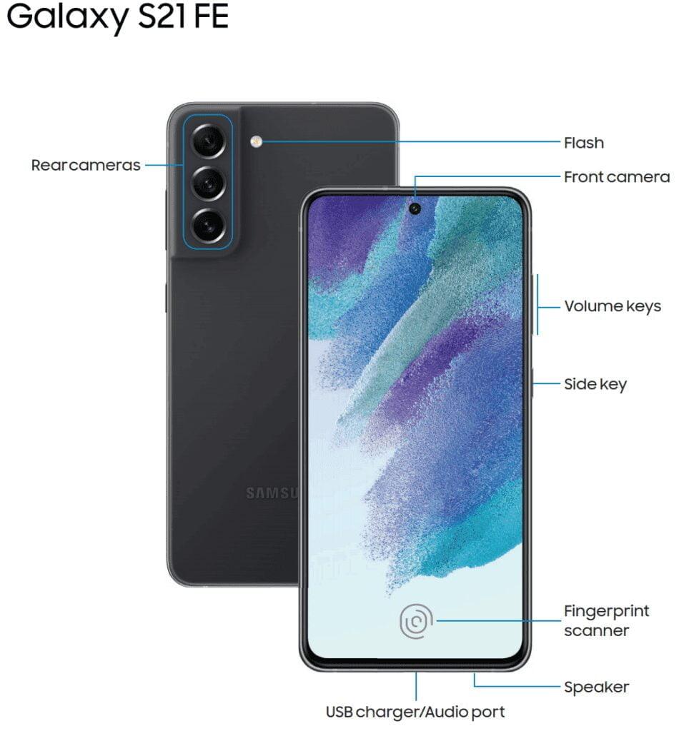 Procesamiento Samsung Galaxy S21 FE 5G