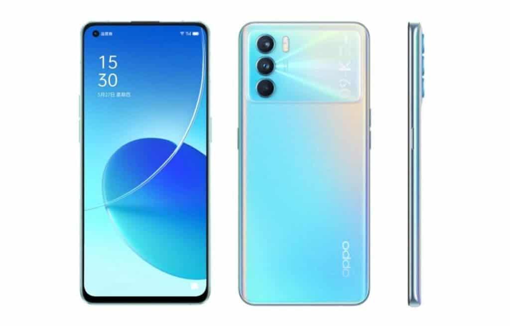 Diseño OPPO K9 Pro 5G