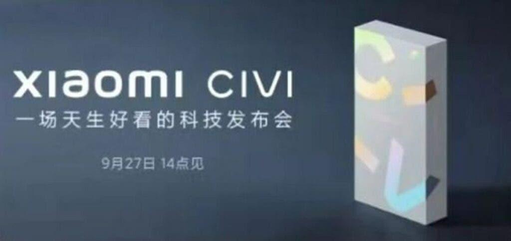 Lanzamiento de Xiaomi Civi