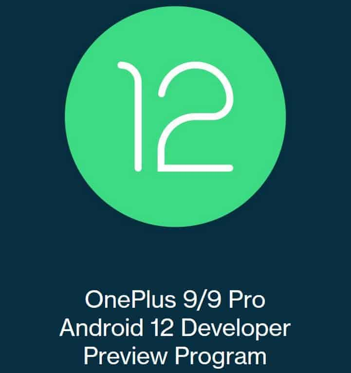 Android 12 Developer Preview 2 llega para OnePlus 9 y OnePlus 9 Pro
