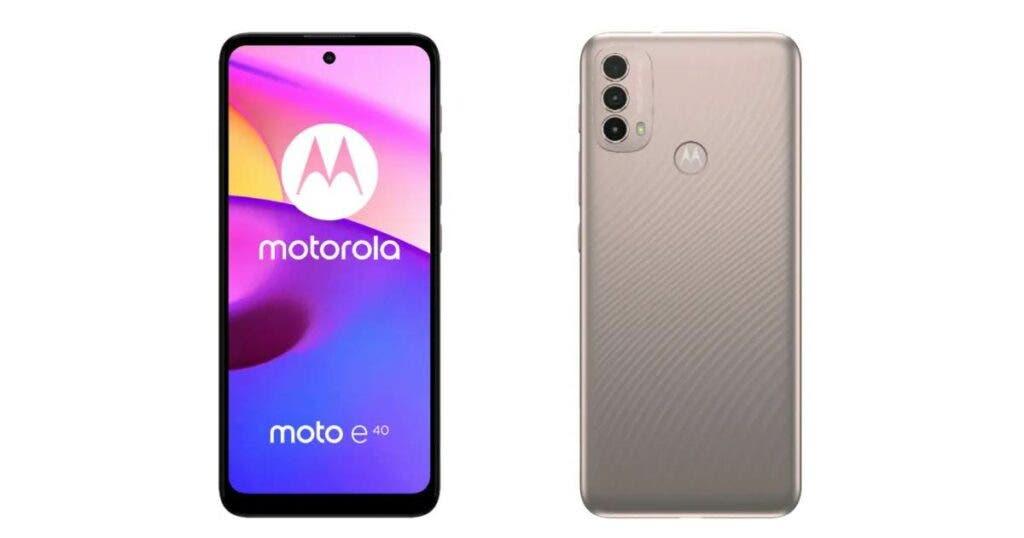 Motorola Moto E40 será oficial en India, ver especificaciones y precio