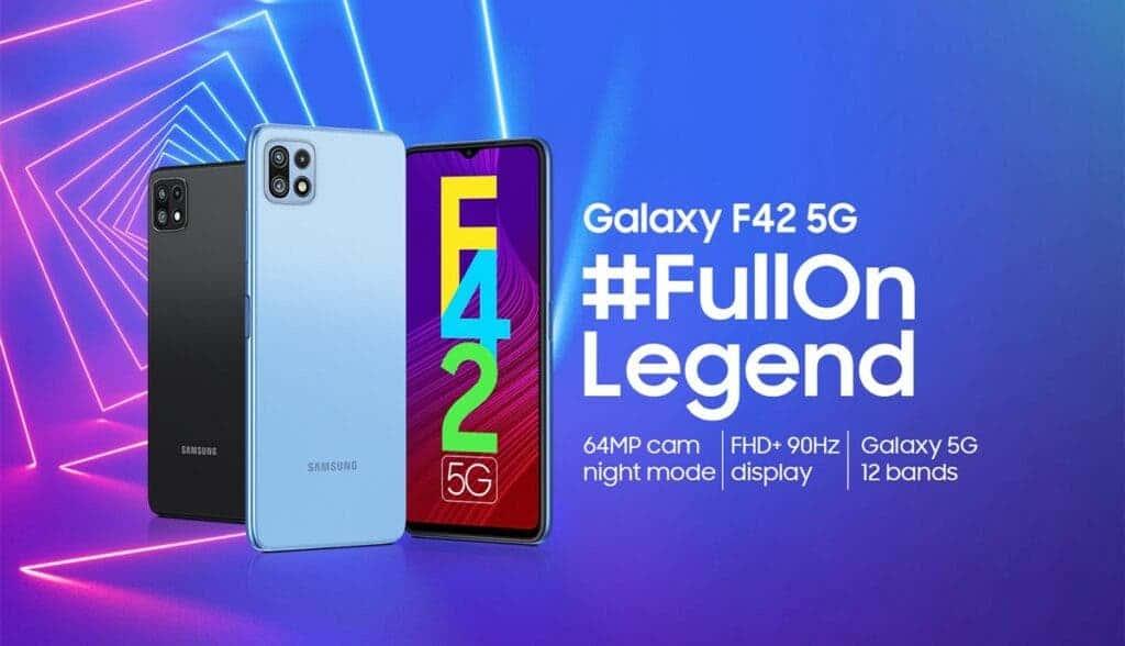 Precio del Samsung Galaxy F42 5G en India